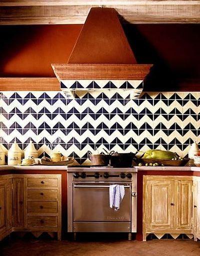 Bold Tile Splashback