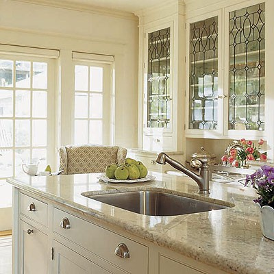 granite bench top in the kitchen