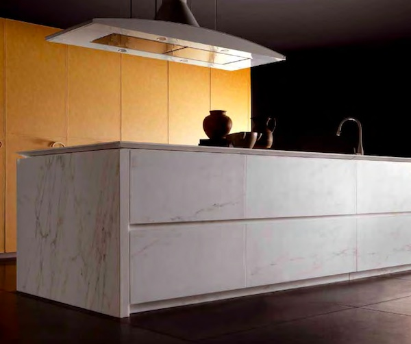 marble kitchen cabinetry