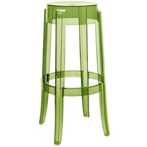 green ghost chair