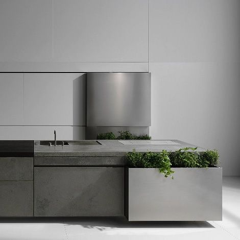 concrete kitchen design