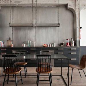 industrial kitchen in Paris