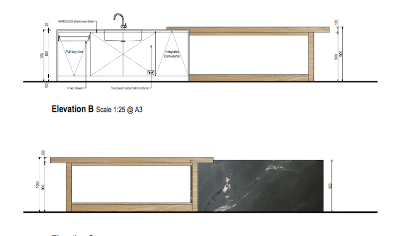 kitchen design island plans