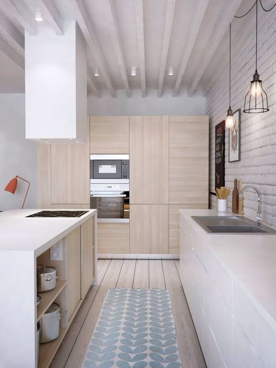 light timber kitchen
