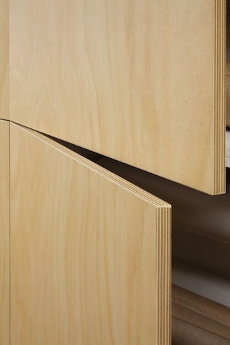 Navurban hooped pine door detail