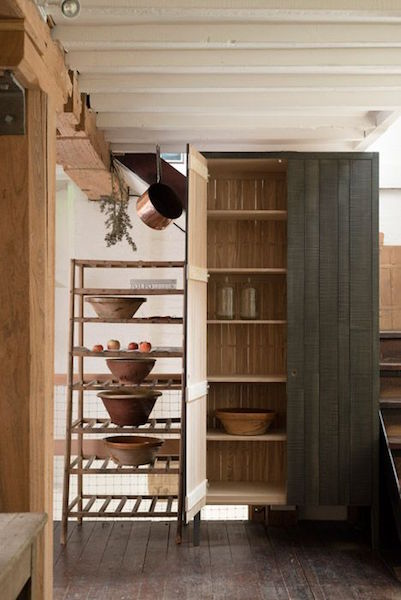 rustic urban kitchen design by Sebastian Cox
