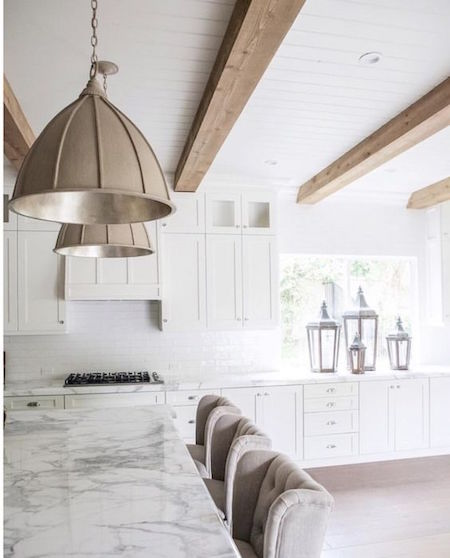 oversized pendant lighting hamptons kitchen