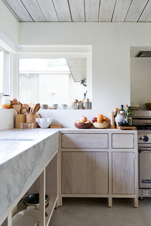 marble meets timber bench top | Scott & Scott architects | Blue Tea kitchens Sydney