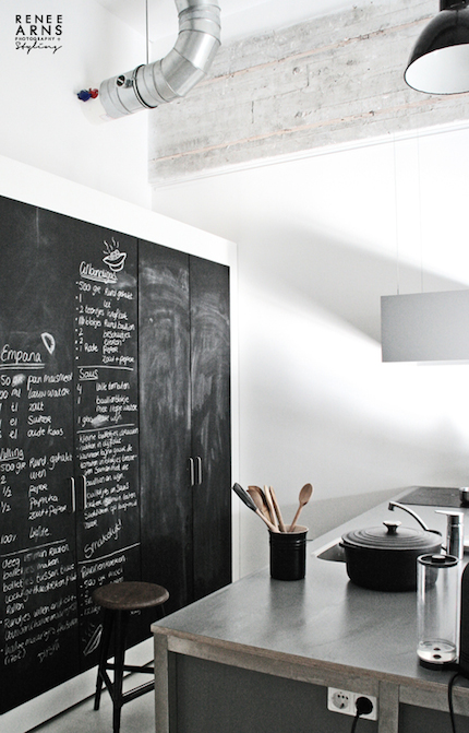 Adding A Painted Blackboard To Your Kitchen Design Is Both An Unusual And  Practical Idea. It Can Be Used To Write Messages To Your Family, ...