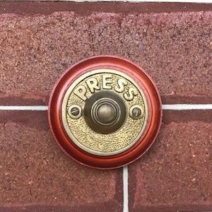 door bell in brass